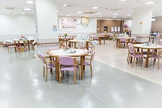 介護施設食堂